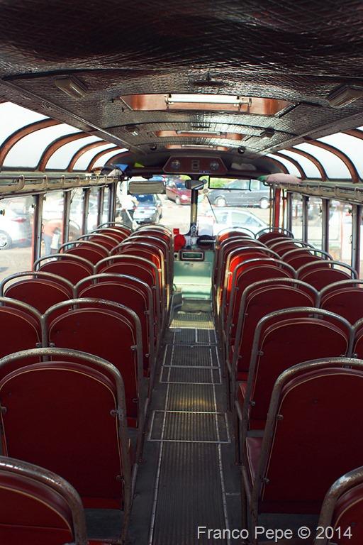 Autobus Fiat 306 Interno Da Dietro Senale Bz 3 Agosto