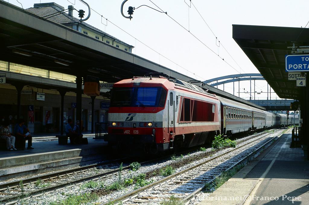 E torino porta susa 22 agosto 2000 - Treni porta susa ...