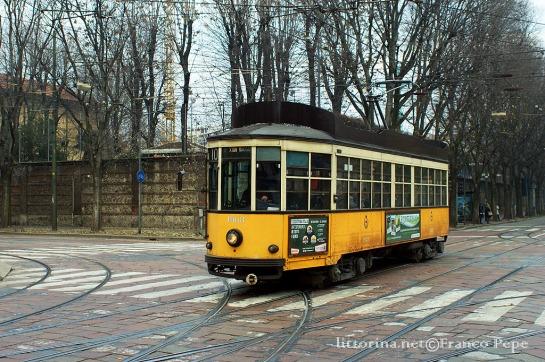 Atm Milano Tram 1963 Largo V Alpini Milano 14 Dicembre 2015